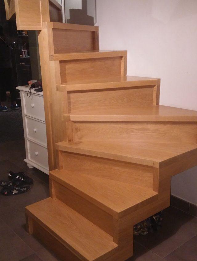 Ξύλινη σκάλα TIERRA