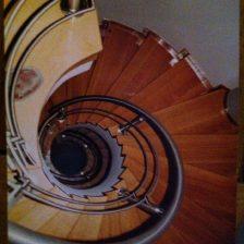 Ξυλινη σκάλα MARION