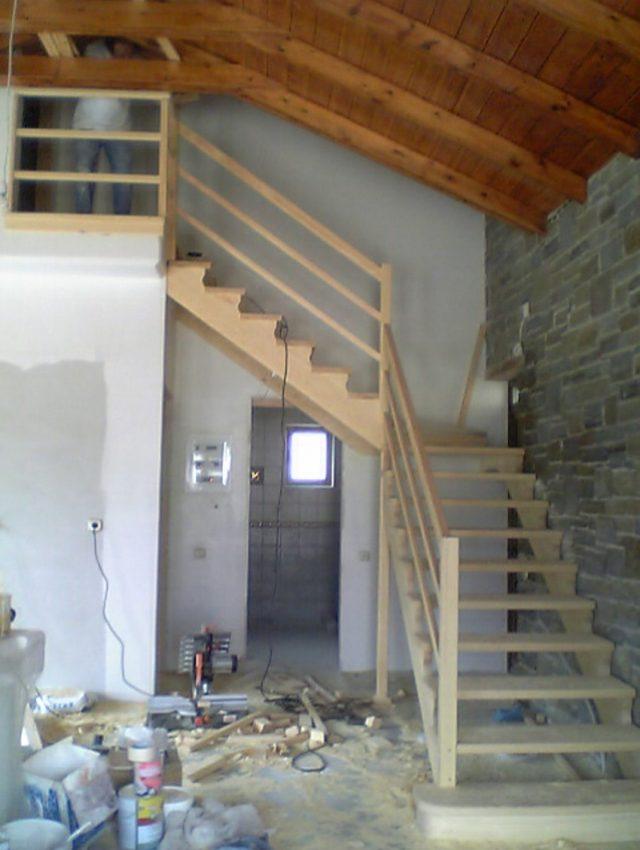 Ξύλινη σκάλα AURORE