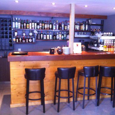 Ξύλινες κατασκευές – κατάστημα Antico Coffe Bar