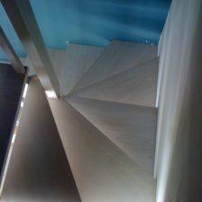 Ξύλινη σκάλα CLAIRE