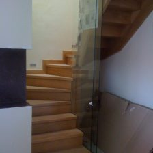 Ξυλινη σκάλα MELANIA
