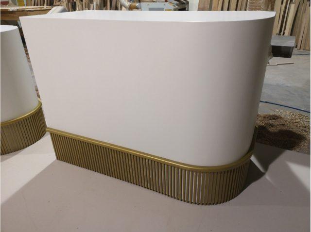 Ξύλινες κατασκευές – κατάστημα Αρωματοπωλείου