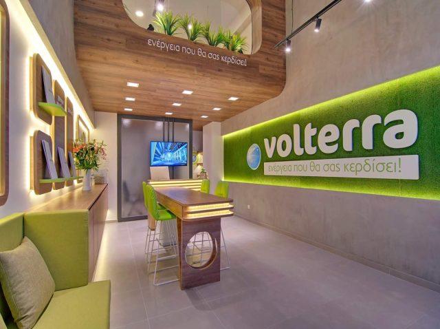 Ξύλινες κατασκευές – κατάστημα Volterra