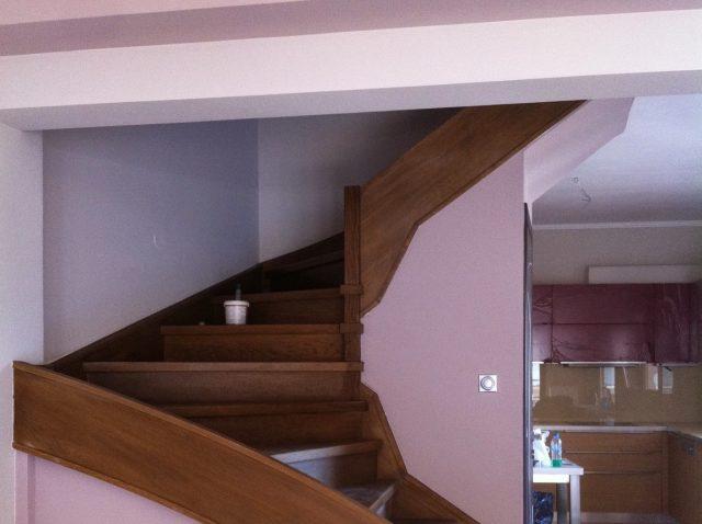 Ξύλινη σκάλα BALLENA